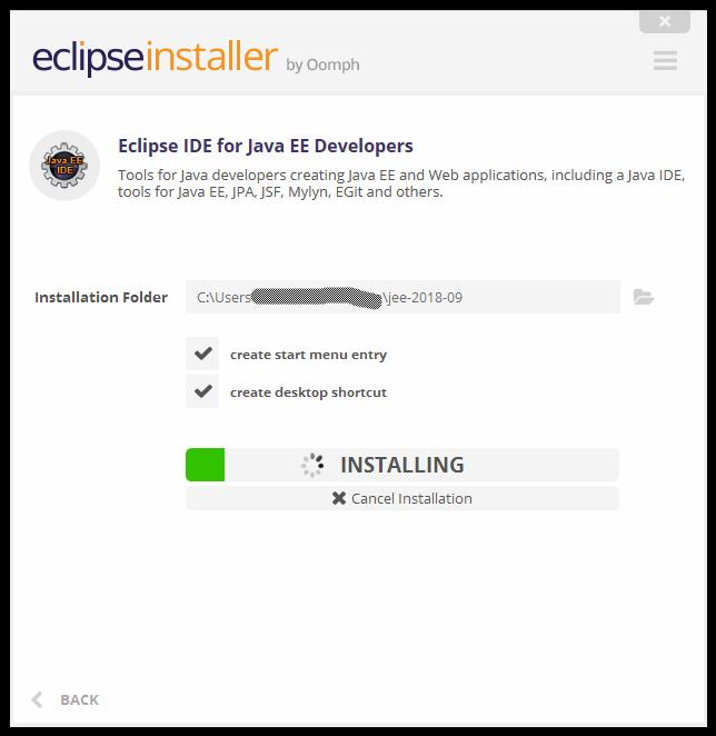 Eclipse java ee ide for web developers